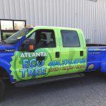 Atlanta Tree Service - Company vehicle with wrap.